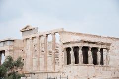 Ruines de Grec Images libres de droits