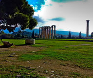 Ruines de Grec photographie stock