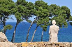 Ruines de Grec d'Empuries Photos stock