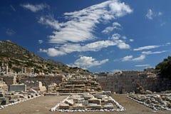 Ruines de Grec en Turquie Images stock