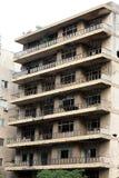 Ruines de guerre civile libanaise Images libres de droits
