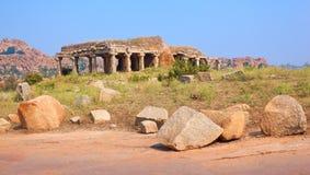 Ruines de Hampi Photos libres de droits