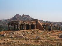 Ruines de Hampi Photo libre de droits