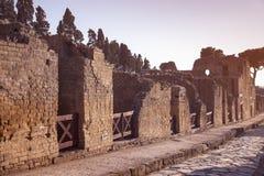 Ruines de Herculanum photos libres de droits