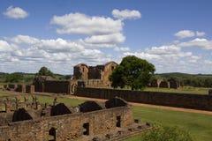 Ruines de jésuite au Trinidad Photographie stock libre de droits