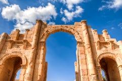 Ruines de Jerash Photographie stock libre de droits