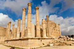 Ruines de jerash Images stock