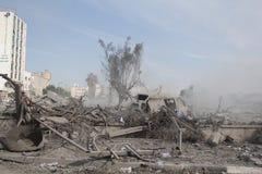 Ruines de khadra d'Abu photographie stock libre de droits