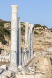 Ruines de Knidos, Mugla Turquie Photo libre de droits