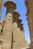 Ruines de l'Egypte Images libres de droits