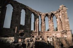 Ruines de l'église du ` s de St George des latins Famagusta, CY Images libres de droits
