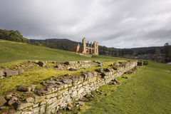 Ruines de l'hôpital chez Tasmania& x27 ; port Arthur Historical Site de s Photos libres de droits