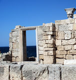 Ruines de la construction antique Photographie stock libre de droits