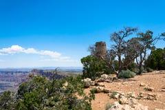 Ruines de la vieille tour de Navajo Stationnement national de gorge grande, Arizona, Etats-Unis photo stock
