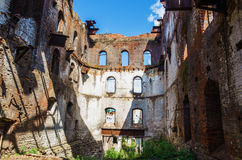 Ruines de la vieille usine métallurgique Photographie stock