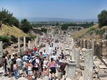 Ruines de la ville antique images libres de droits