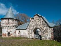 Ruines de la ville complexe architecturale de Fedorovsky dans l'Alexan Photos stock