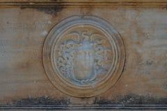 Ruines de la ville romaine en pneu Photos stock