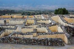 Ruines de la ville Yagul, Puebla de Zapotec de pré-hispanique images libres de droits