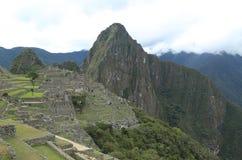 Ruines de Machu Picchu au Pérou Images libres de droits
