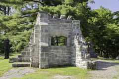 Ruines de MacKenzie King Estate Images libres de droits