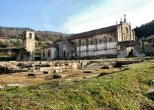 Ruines de monastère de Tarouca Images libres de droits