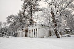 """Ruines de monument architectural """"en parc """"l'Alexandrie """" photo stock"""
