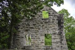 Ruines de mur de château Photo libre de droits