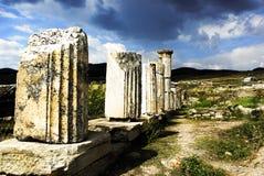 Ruines de nécropole image libre de droits