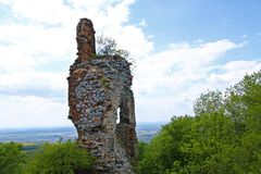 Ruines de Pajstun Image stock