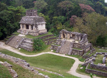 Ruines de Palenque Photos stock
