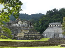 Ruines de Palenque, Mexique Image stock