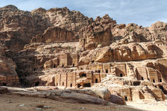 Ruines de PETRA Image libre de droits