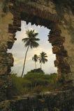 Ruines de phare Photos libres de droits