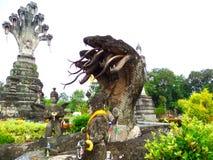 Ruines de phayanak chez Salakeawku photos libres de droits