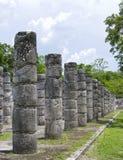 Ruines de pierre, Mexique Images libres de droits