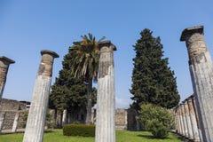 Ruines de Pompéi photo libre de droits