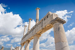 Ruines de Pompeii Images libres de droits