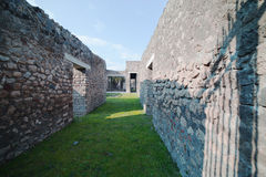 Ruines de Pompeii. photographie stock