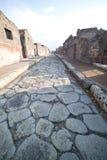 Ruines de Pompeii. image stock