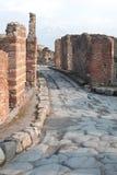 Ruines de Pompeii. images libres de droits