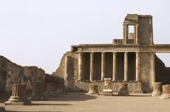 Ruines de Pompeii Photo libre de droits