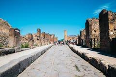 Ruines de Pompeii en Italie photos stock