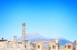 Ruines de Pompeii, Italie image stock