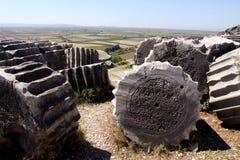 Ruines de Priene, Turquie Photo libre de droits