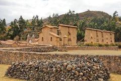 Ruines de Raqchi, Cuzco, Pérou Photos stock
