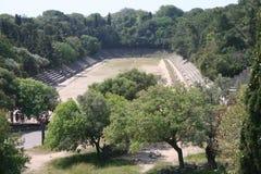 Ruines de Rhodos, Grèce Images stock
