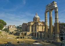 Ruines de Roma Imagen de archivo