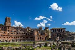 Ruines de Romain, Italie Photo stock
