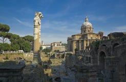 Ruines de Rome Photos libres de droits